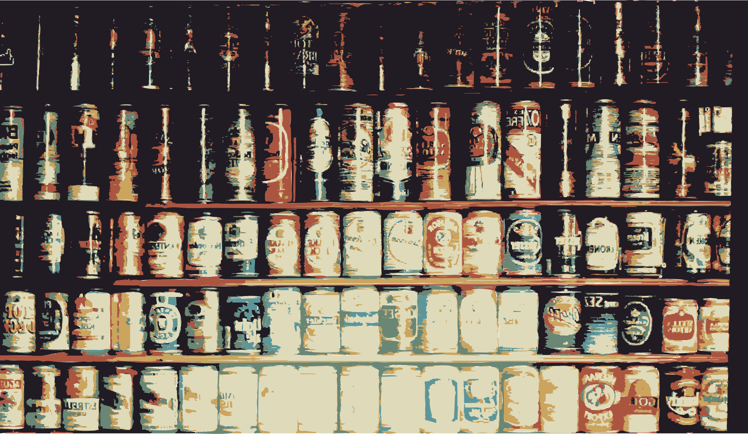 Beijing Cream Wall of Beer by beijingcream